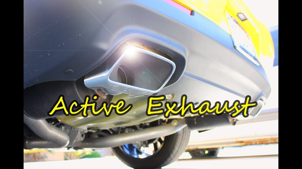 2017 Challenger Charger R T Active Exhaust System Youtube