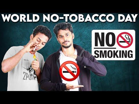 WORLD NO TOBACCO DAY | NO SMOKING | SWITCH ON