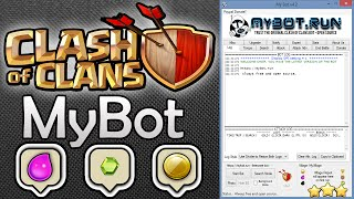 MyBot - FREE Clash Of Clans Bot + Download Link (Farm Gold & Elixir!!)