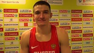 Илья Шкуренев - Семиборье, Чемпионат Европы в помещении 2015