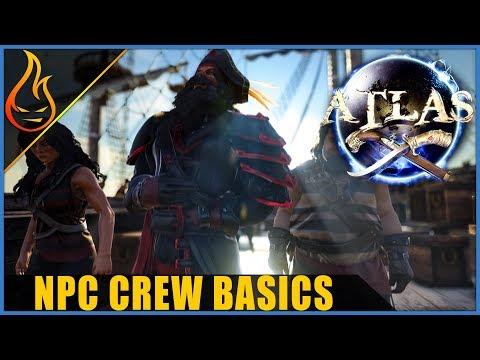 Atlas MMO NPC Crew Basics