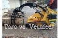 Mini Skid Steer Toro vs  Vermeer