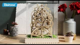 Mechanical gears  Locomotive 3D Assembled Puzzle Model ROBOTIME®