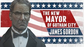 MESH; Batman; Arkham Knight; Mayor James Gordon