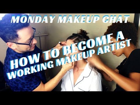 BECOMING A MAKEUP/HAIR ARTIST THE TELEVISION INDUSTRY #MONDAYMAKEUPCHAT- mathias4makeup