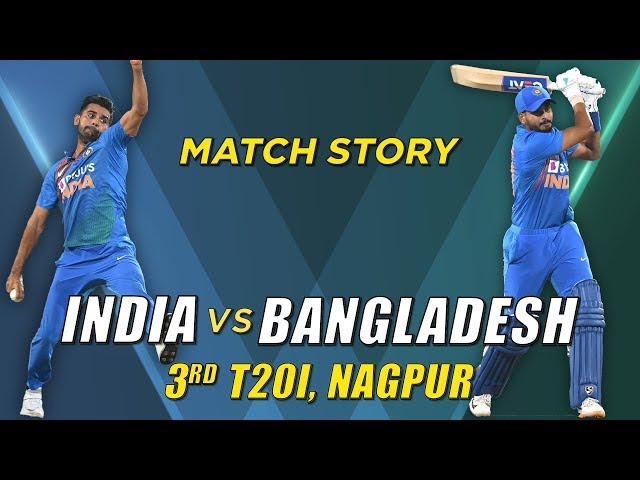 India v Bangladesh, 3rd T20I, Match Story: India win the series 2-1