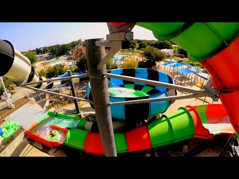 Best Rides at Hurricane Harbor Six Flags over Texas