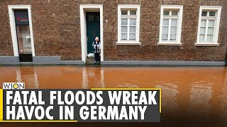At least 103 dead in western Germany, Belgium, more than 1,300 missing   Europe floods  English News