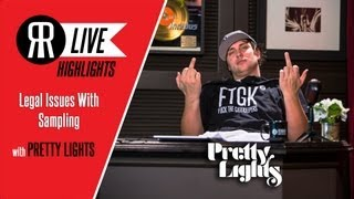 Pretty Lights Talks About Legal Issues With Sampling