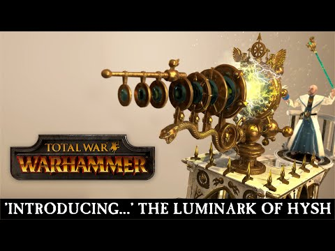 Total War: WARHAMMER - Introducing... The Luminark of Hysh [ESRB]