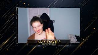 Amy Davies - Best Fiction Film Nominee