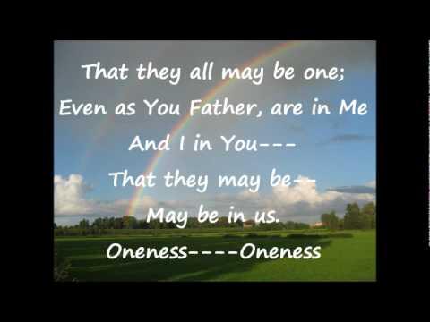 Oneness is not unity (lyrics)