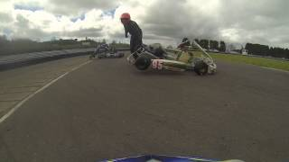 Clay pigeon kart club may meeting 2014 crash