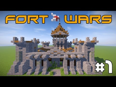 Minecraft Fort Wars - Capture the Flag PVP! #1