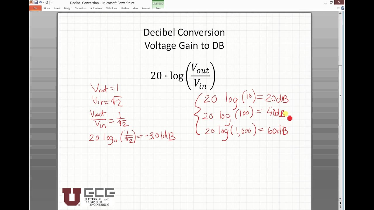 Db Conversion Youtube