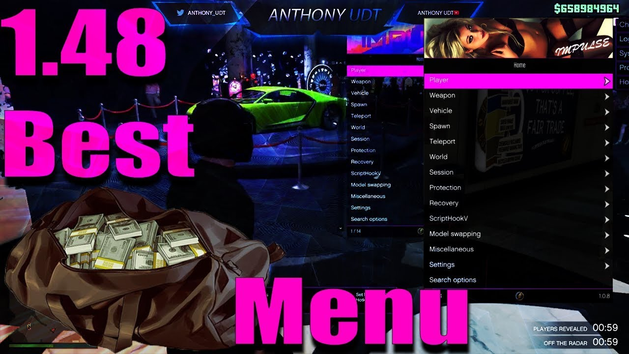 [1.48] Impulse BEST MOD MENU GTA 5 PC