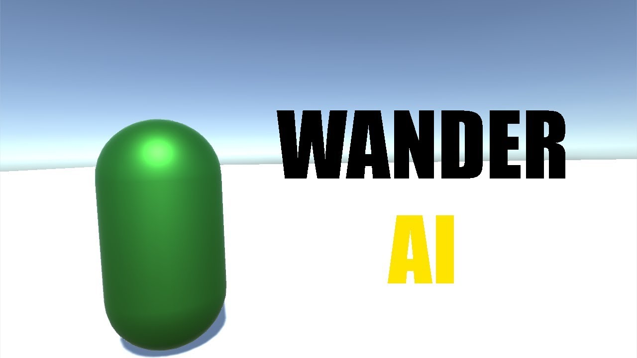 How To Make Easy Wander AI In Unity!