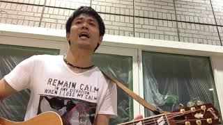 20170817 Guiter弾き語り 豊田市駅前 ストリートライブ オープンG.