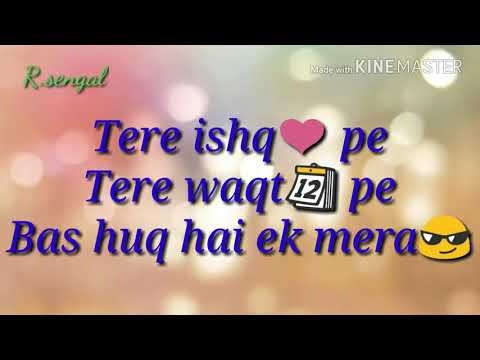 Mai to bas teri chahat main| whatsapp status | blood money | love