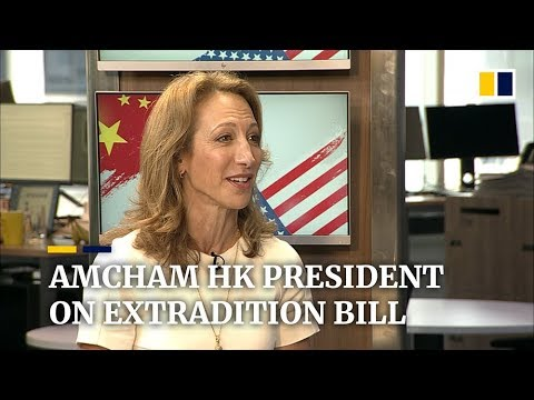 Extradition bill could damage Hong Kong's rule of law, says AmCham president
