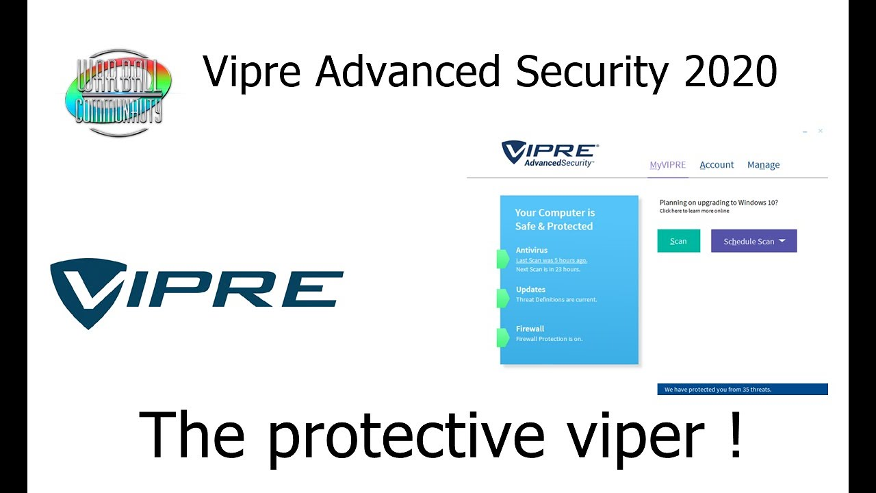 Download Vipre Advanced Security 2020    The protective viper !