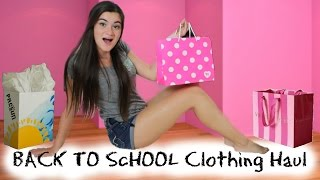 Back to School Clothing Haul 2014 + Giveaway! Thumbnail
