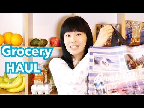 Mes courses [En France] Bio coop & Ferme fruitière & Supermarché [Nutrition Santé] [Grocery Haul]