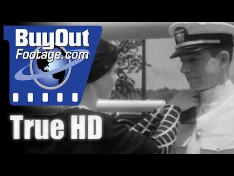 HD Historic Stock Footage - 1932 U.S. Naval Academy Graduation