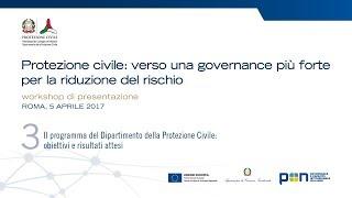 Workshop Presentazione Programma/apr 2017 3 Di 3 – Protezione Civile E Pongov 2014-2020