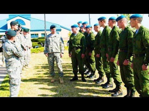 Американские десантники опозорились перед ВДВ России!