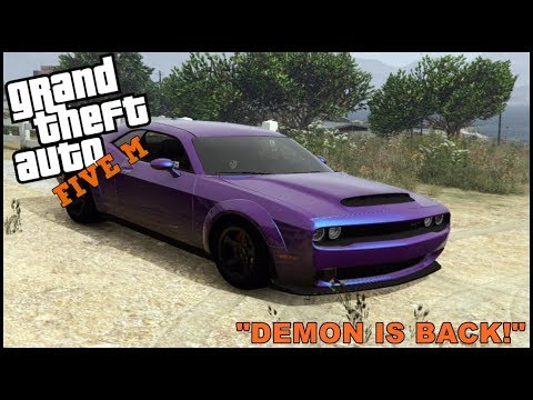 GTA 5 ROLEPLAY -  DODGE DEMON IS BACK! - EP. 322 - CIV