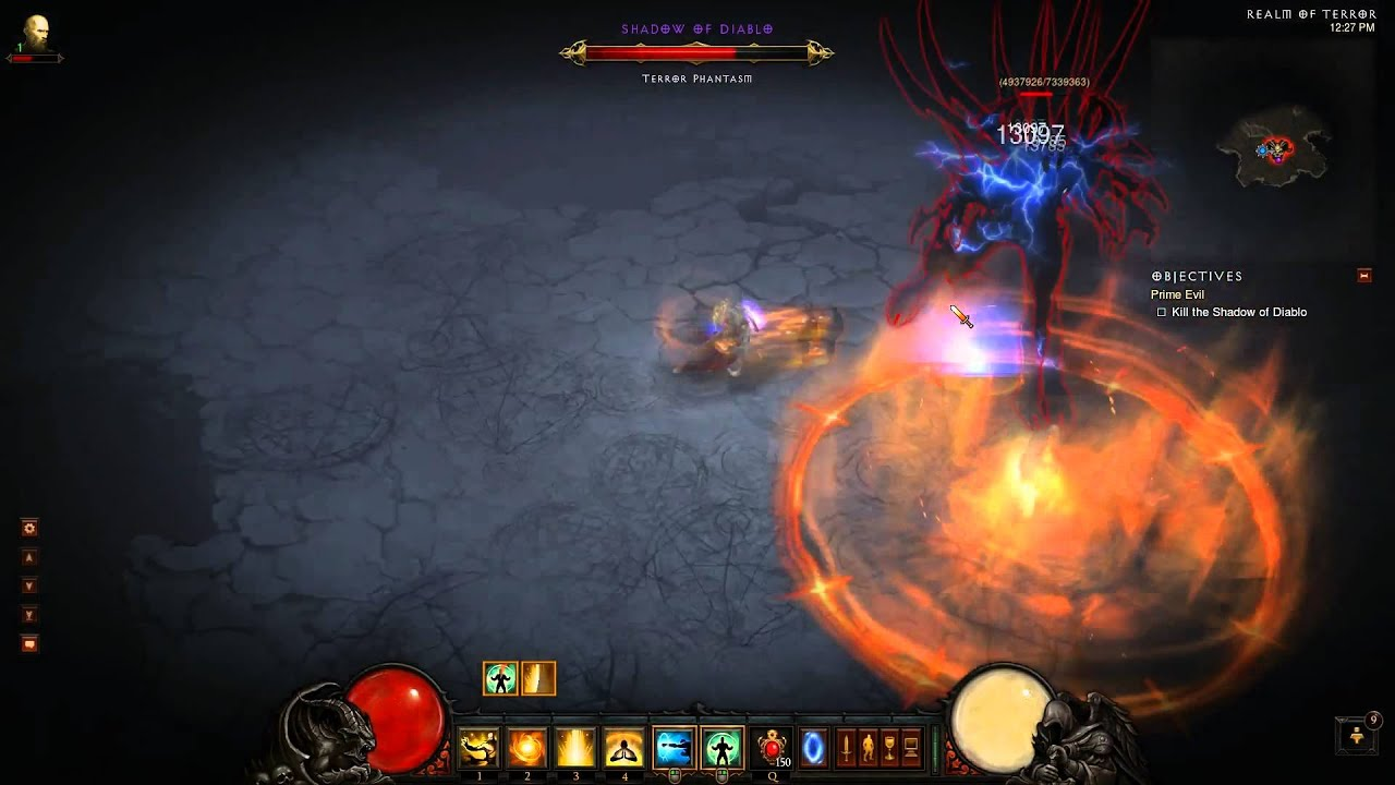 Diablo Monk Solo Build