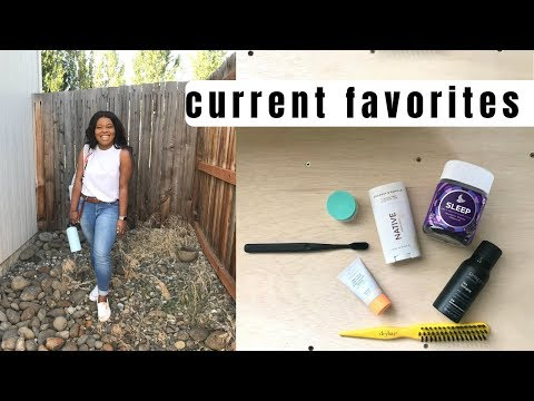 current favorites: skin care, self care, lifestyle and more! thumbnail