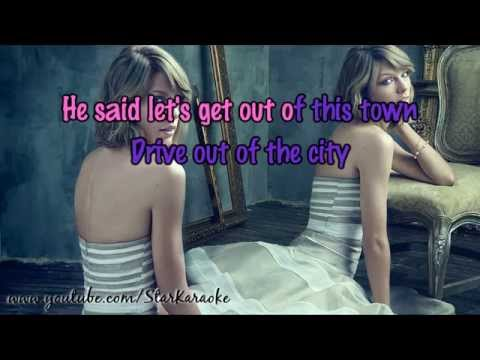 Taylor Swift - Wildest Dreams [Karaoke/Instrumental]