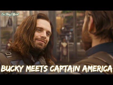 Avengers: Infinity War - Bucky Meets Captain America Official Trailer 2018