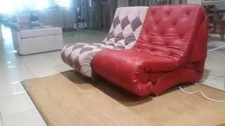 Кресло - шезлонг - кровать, возможно использовать как модуль(MERENDA.SU 8 (495) 789 16 62 При подобной установке получается диван-кровать со спальным местом 200см х 180см. Управлять..., 2013-07-26T23:33:07.000Z)
