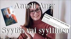 Onko Anneli Auer syytön vai syyllinen?