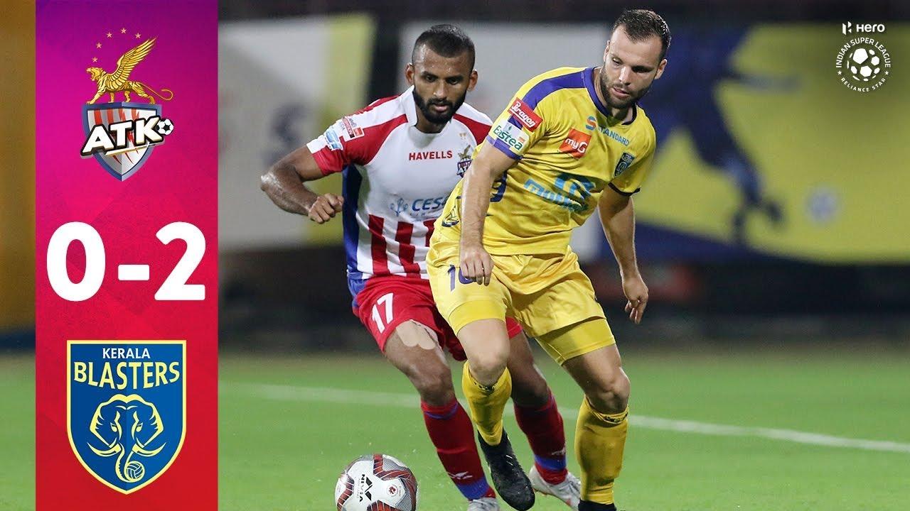 Hero ISL 2018-19   ATK 0-2 Kerala Blasters FC   Highlights ...