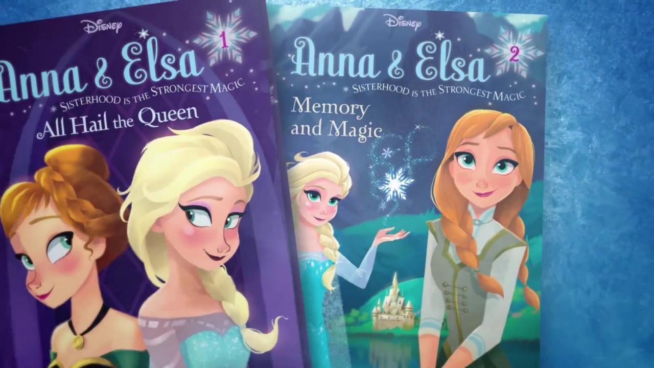 Frozen Chapter Books TV Spot