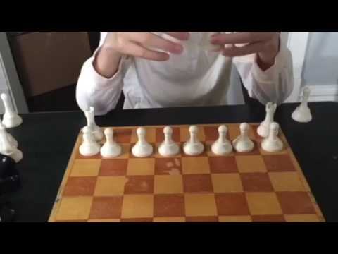How to set up a chessboard by Vincent and Lorenzo