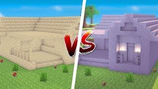 Minecraft: CASA DE AREIA VS. CASA DE ARGILA ‹ JUAUM ›