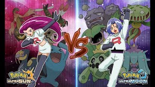 Pokemon Ultra Sun and Ultra Moon: Jessie Vs James (Team Rocket Battle)