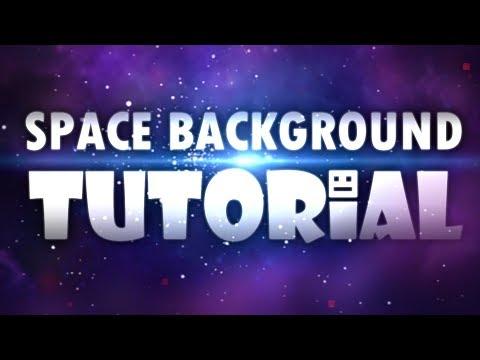 Space Background Tutorial (No Lag) | Geometry Dash