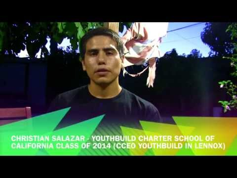 YouthBuild Charter School of California Alumni Advice - Christian Salazar