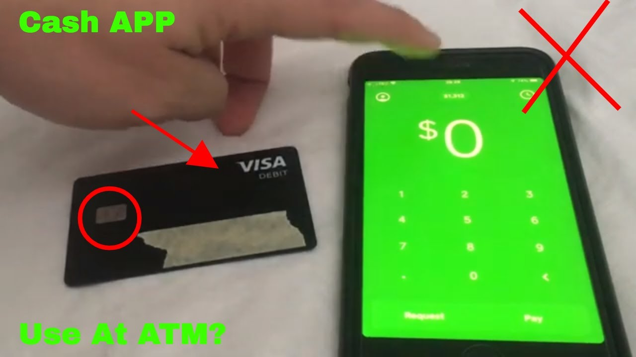can i go to atm with cash app card