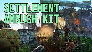Settlement Ambush Kit: Fallout 4 Creation Review!