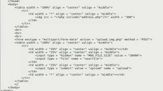 Upload delle immagini con Php e MySQL