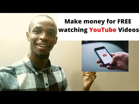 Make money online for free watching YouTube Videos in South Africa and worldwide