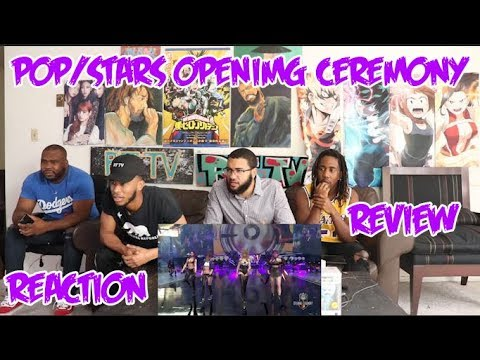 (G)I-DLE | K/DA - POP/STARS (ft Madison Beer) | Worlds 2018 Opening Ceremony REACTION