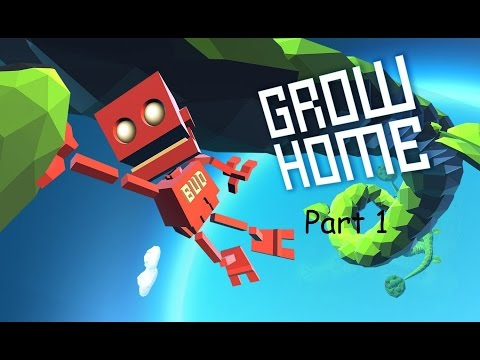Let's Play Grow Home Part 1 - Rock bottom, get it?!